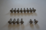 Special Screw Set Stainless Steel A4 for Kitesurfboards