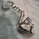 E-3 Bindings Snowboard Keychain made in 925/sterlingsilver(28.5gram)